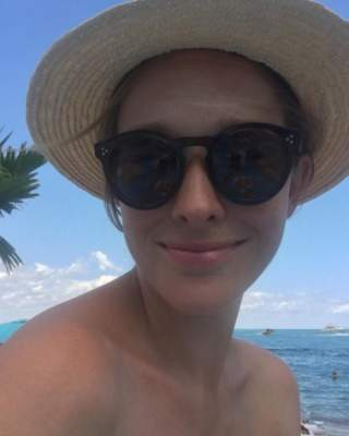 Катя Осадчая показала, как отдыхает на пляже