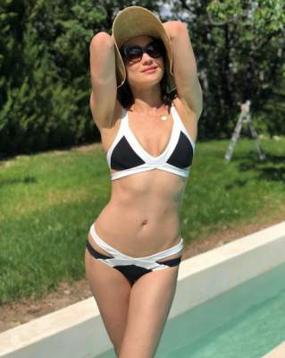 Ольга Куриленко похвасталась новым купальником