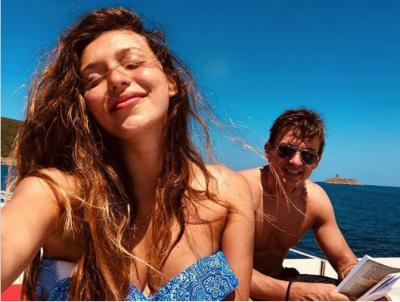 Регина Тодоренко показала романтический отдых