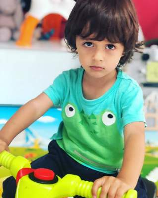 Ирина Билык поделилась фотографиями маленького сына