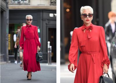 Lady Gaga впечатлила элегантным образом