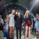 Оля Полякова и Леся Никитюк вышли на подиум