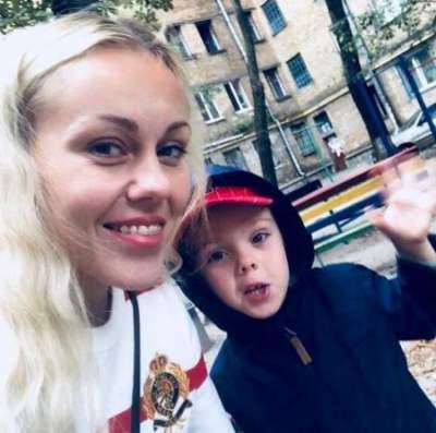 Украинская певица похвасталась подросшим сыном