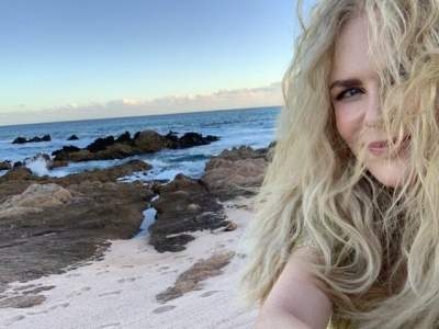 51-летняя Николь Кидман показала, как выглядит без мейкапа