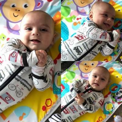 Ева Лонгория показала четырехмесячного сына