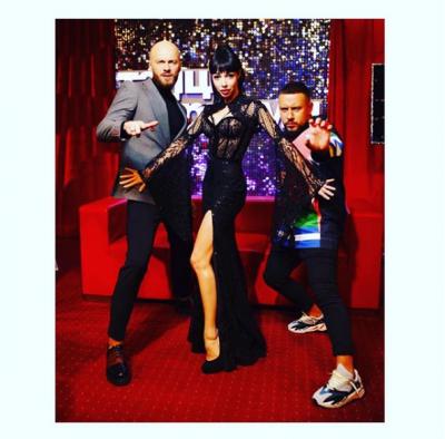 Монатик поделился забавным снимком со сцены «Танцев со звездами»