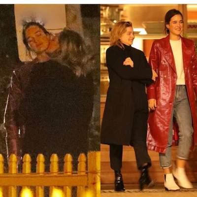 Папарацци застали Хлою Морец за лесбийским поцелуем