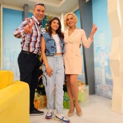 Украинская ведущая покрасовалась в стильном платье-жакете
