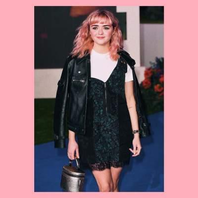 В косухе и с розовыми волосами: звезда