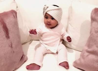 Сестра Ким Кардашьян показала свою маленькую дочь