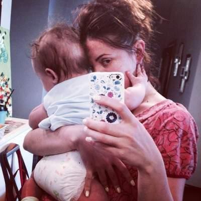 Оля Цибульская поделилась милым снимком с сыном