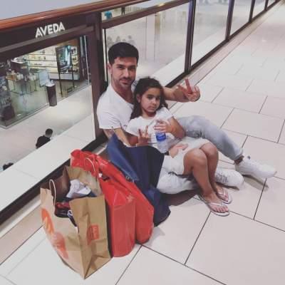 Супруг Ани Лорак провел рождество с дочерью