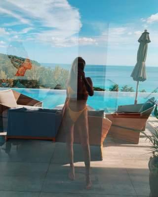 Похудевшая жена Николая Тищенко похвасталась фигурой в купальнике