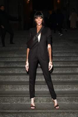 Винни Харлоу засняли на модном мероприятии в Милане