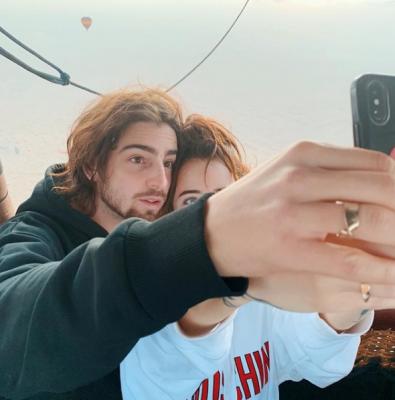 Надя Дорофеева и Дантес устроили романтичный отпуск в Дубае