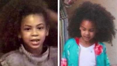 Не отличить: Бейонсе показала себя и дочь в одном возрасте