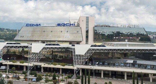 Крупные аэропорты России